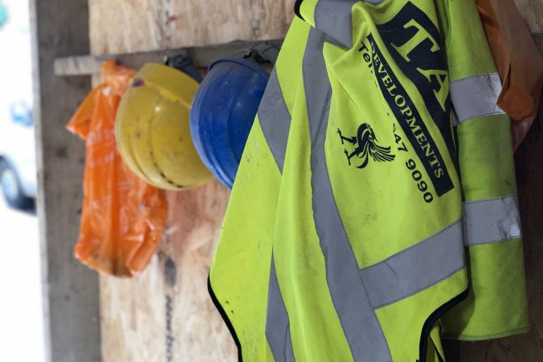 What's behind the green doors?
